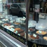 Pharmacy Cafe, Newton Abbot. Wise selection of tasty home made cakes.