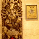 Ganesh in the hall