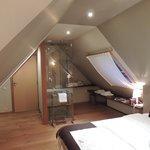 Een hele mooie romantische kamer.