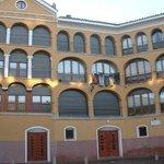 Antigua plaza de toros octogonal de Tarazona