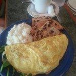 omelette for breakfast!