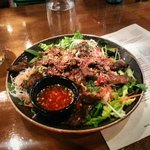 Saigon lemongrass beef - vermicelli noodle, herbs, cucumbers, chili-lime dressing