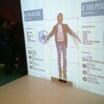 Uno dei giochi interattivi che mostra ai bambini le varie unità di misura e i dati statistici