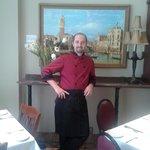 Our italian Chef Daniele Cervi!
