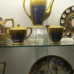 Pickard china display.