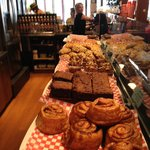 Lots of fresh baking to choose....
