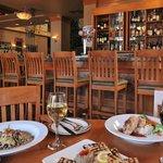 The Meatball Pizza & Pasta Lounge area