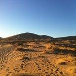 Kelso dunes - Acces piéton