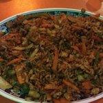 Vegetarian coconut fried rice