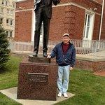 Jimmy Stewart Statue - November 2, 2014