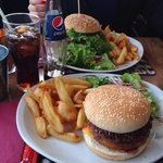 Le burger du dimanche ^^