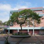 HK Science Museum courtyard