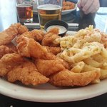 Catfish and Mac & Cheese