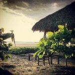 Playa Hermosa where we surfed days 3&4