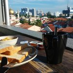 Breakfast at the Rooftop Lounge