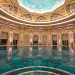 the pool is quite grand I must say
