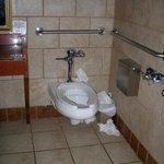 Lower floor hall bathroom