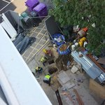 Builders still on ground floor