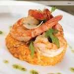 Risotto of Iberian Scented Prawns & Mussels