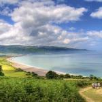 South West Coast Path - Bossington Landscape