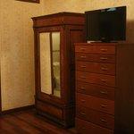 Il mobilio della stanza