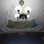Gorky House - ceiling