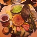 Brunch vegetariano