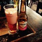 Cerveja de cereja deliciosa!
