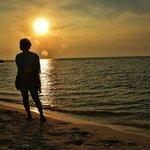 Sunset dari pulau Keke