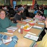 Hot Tamales, Rio Rancho, friends at a table.
