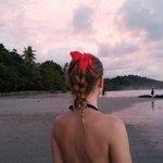 Playa Espadilla at sunset