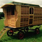 Wanderlusts new wagon, as seen on Channel 4s George Clarks Amazing Spaces