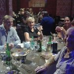 Happy customer's after a lovely meal at the curry mile