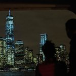 Watching Downtown Manhattan from the Cruise