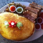Whipped French Omelet for Two !