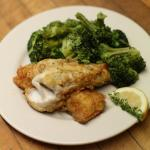 Pan Fried Walleye & Fresh Broccoli