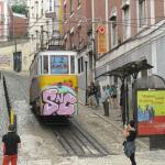 Cable Tram near hotel