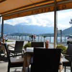 View from my table of Lake Como