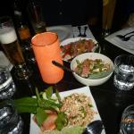 Larp Gai, Pomelo Salad