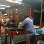 Making el pastor tacos