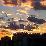 Sunset over Nerja