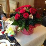 Lovely bouquet and chocolates delivered by Manuel