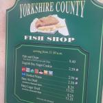 Foto de Yorkshire County Fish Shop