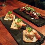 Tiger Prawn Taco & Chilli Beef