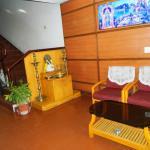 Mandir inside hotel