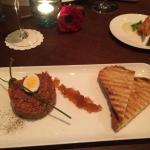 Beef tartare - excellent appetizer