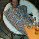 Wife with blanket - 5* service