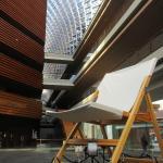 Art work in Lobby: Folding Deck Chair
