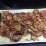 Hongo beltxa con jamon