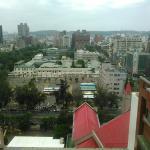 12階から新竹市政府方面の眺めです。